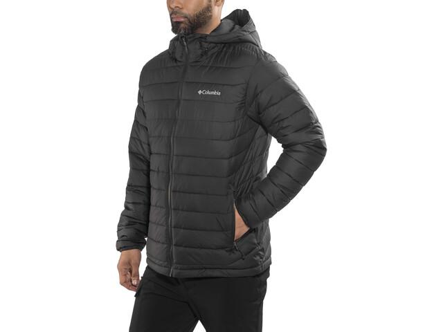 mejores telas venta minorista online para la venta Columbia Powder Lite Hooded Jacket Men black